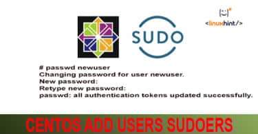 centos add users sudoers