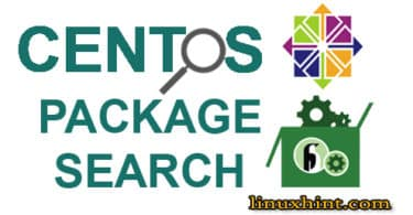 centos package search
