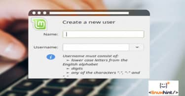 Linux Mint Add User