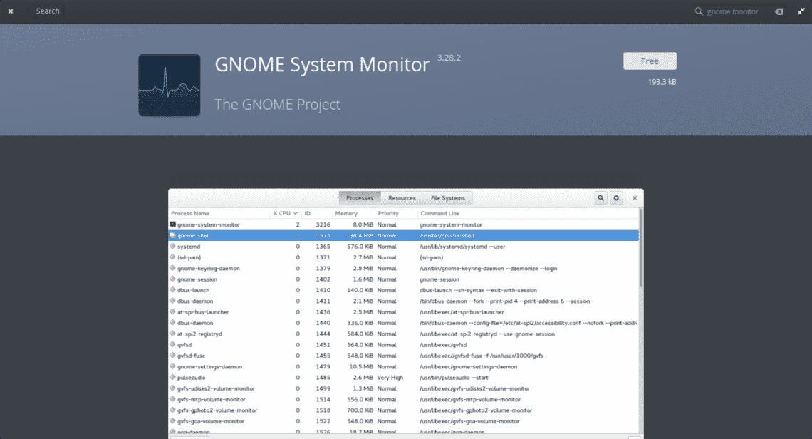 How to use system monitor on elementary OS? – Linux Hint