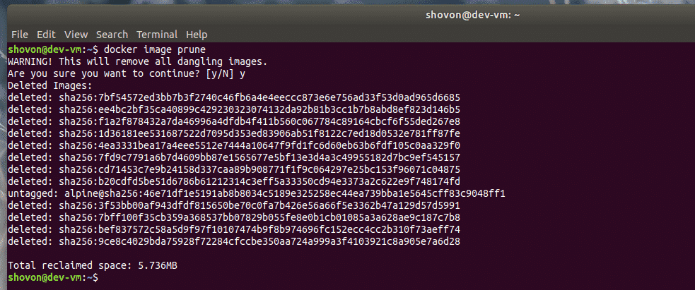 How To Remove All Docker Images Linux Hint