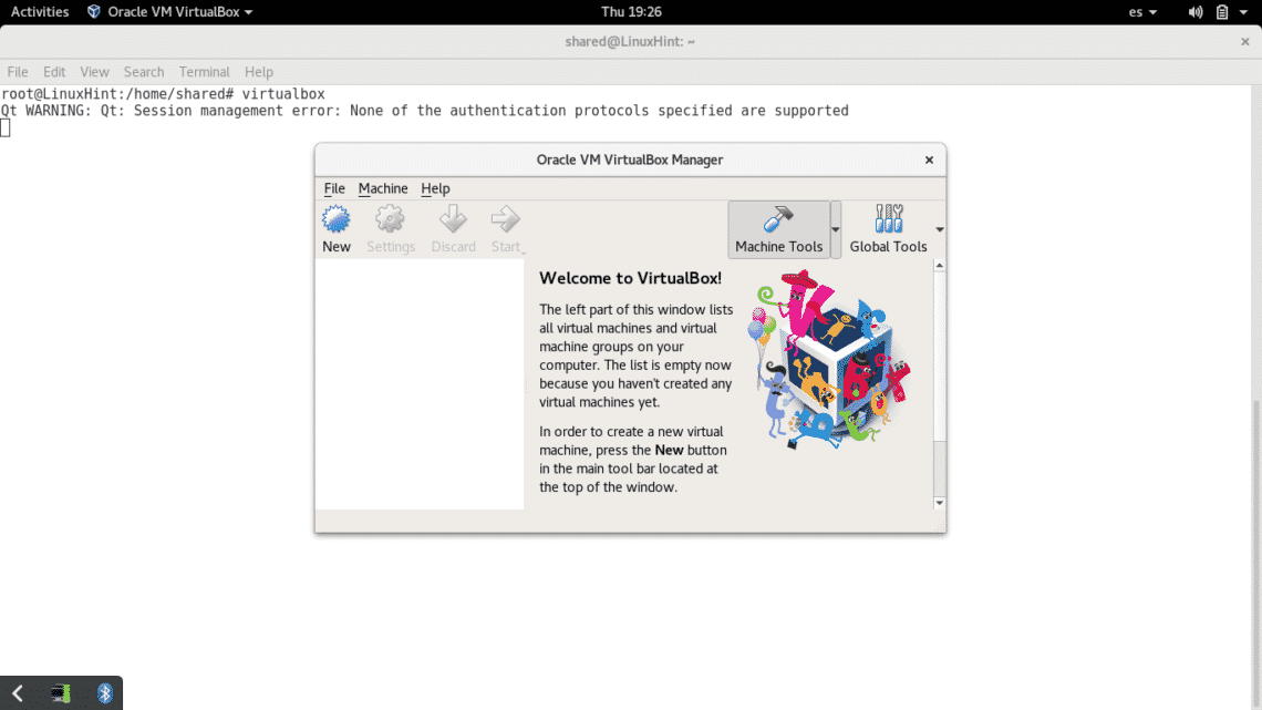 Install and run a Windows Virtual Machine under Debian