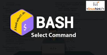 Bash Select Command