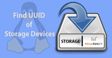 Find UUID of Storage Devices in Linux