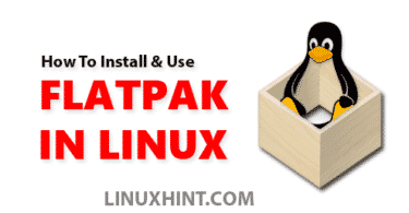 how to install flatpack in linux