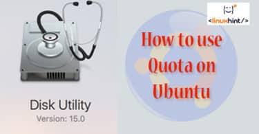 How to use Quota on Ubuntu