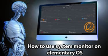 How to use system monitor on elementary OS?