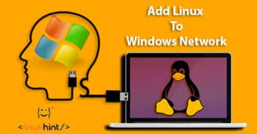 add linux to windows network