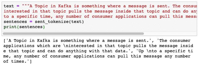 NLTK Tutorial in Python – Linux Hint
