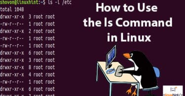 How to Use the ls Command in Linux