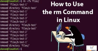 How to Use the rm Command in Linux