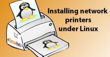 Installing network printers under Linux