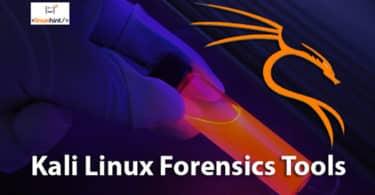 Kali Linux Forensics Tools