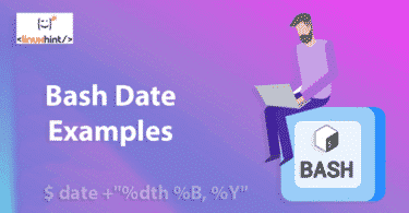 bash date examples