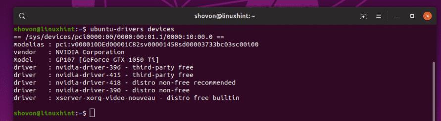 How to Use Ubuntu Nvidia PPA – Linux Hint