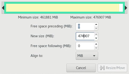 Partitioning hard disks under Debian/Ubuntu and resizing partitions