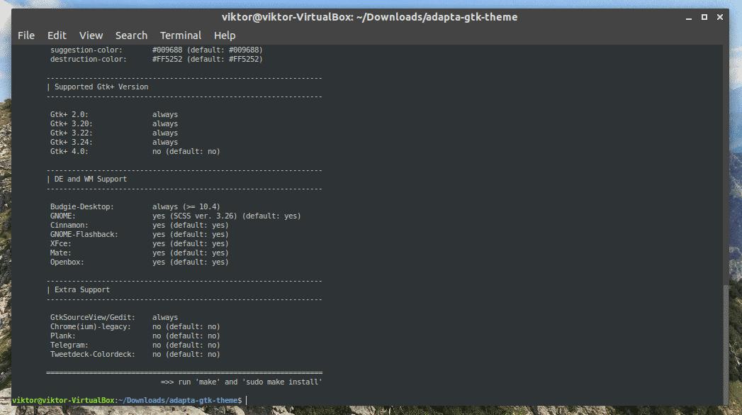 Install Adapta Theme Ubuntu – Linux Hint