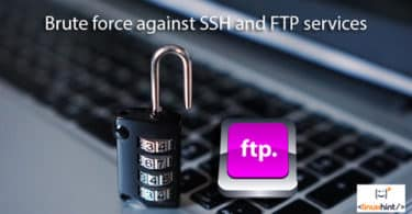 Brute force against SSH and FTP services