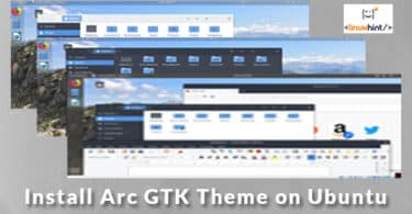 Install Arc GTK Theme on Ubuntu