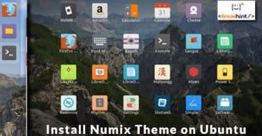 Install Numix Theme on Ubuntu