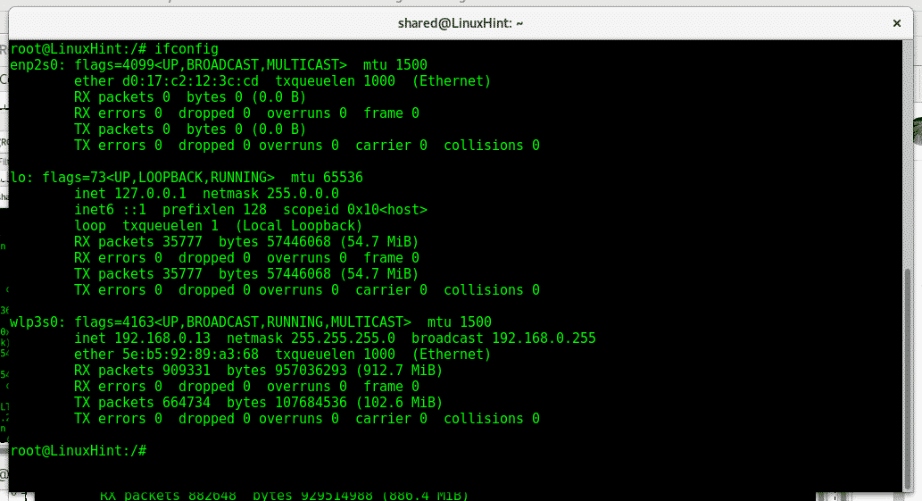 How to find and change the MAC address on Linux – Linux Hint