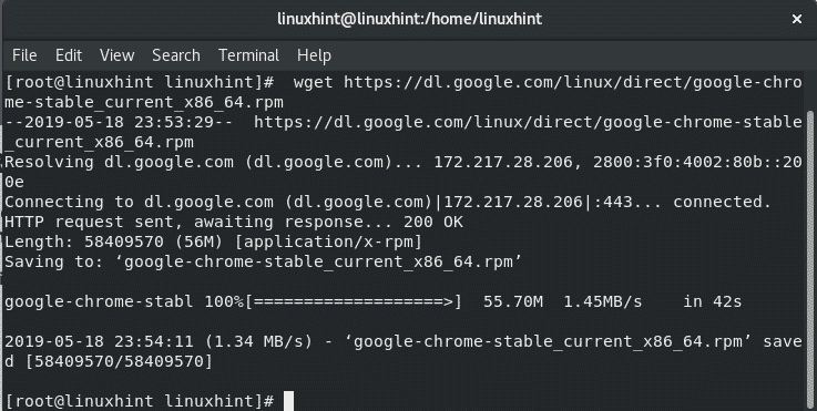 Install Google Chrome on RHEL8 – Linux Hint