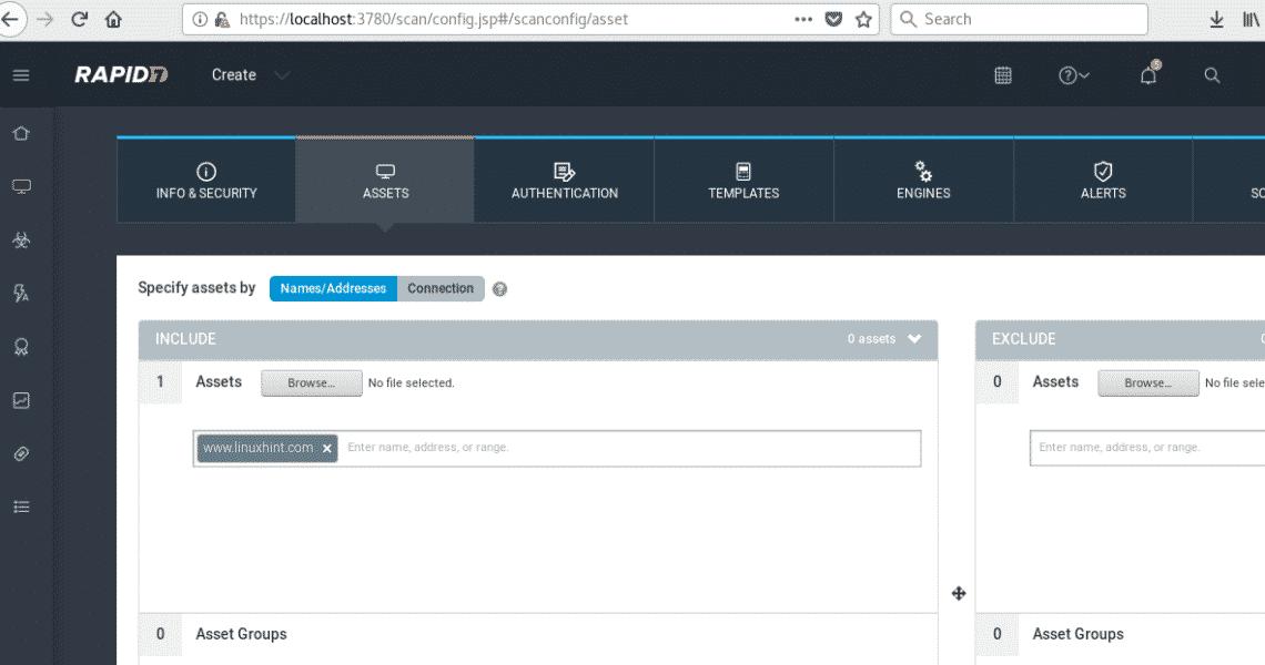 Installing Nexpose Vulnerability Scanner on Debian/Ubuntu – Linux Hint