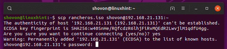 How to Use Linux SCP Command – Linux Hint