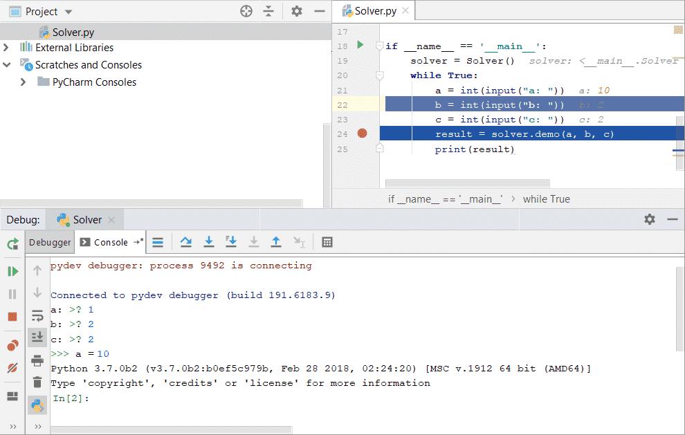 PyCharm Debugger Tutorial – Linux Hint