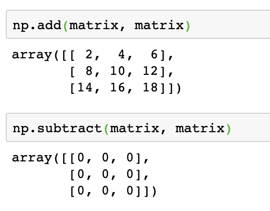 Python: Vectors, Matrices and Arrays with NumPy – Linux Hint