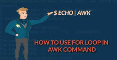 How to use for loop in awk command