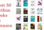 Best 50 Python Books