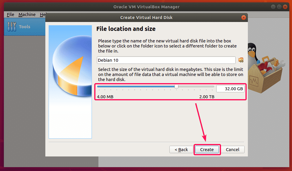 Installing Debian 10 on VirtualBox – Linux Hint
