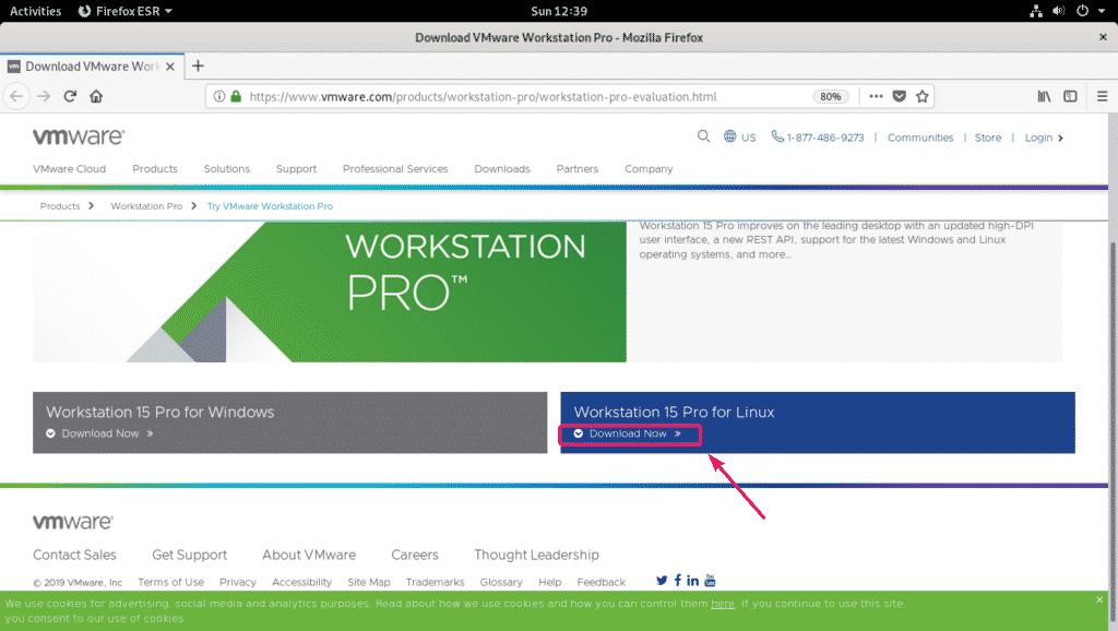 Installing VMware Workstation Pro on Debian 10 – Linux Hint