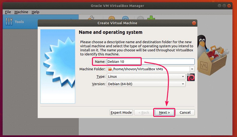 Installing Debian 10 on VirtualBox – Linux Hint