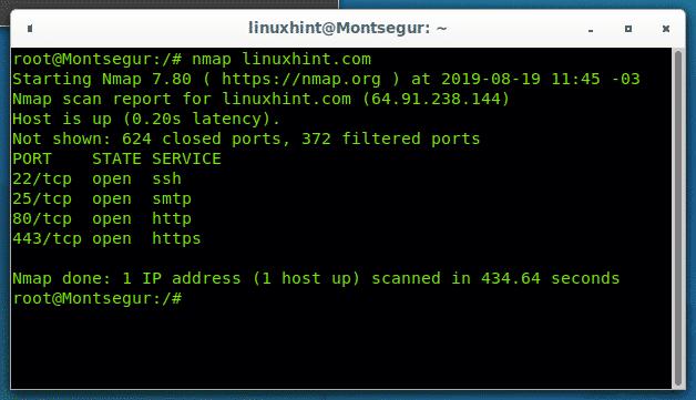 nmap  scan ip ranges  u2013 linux hint