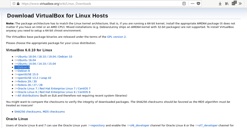 Debian 10 (Buster) Net Install – Linux Hint