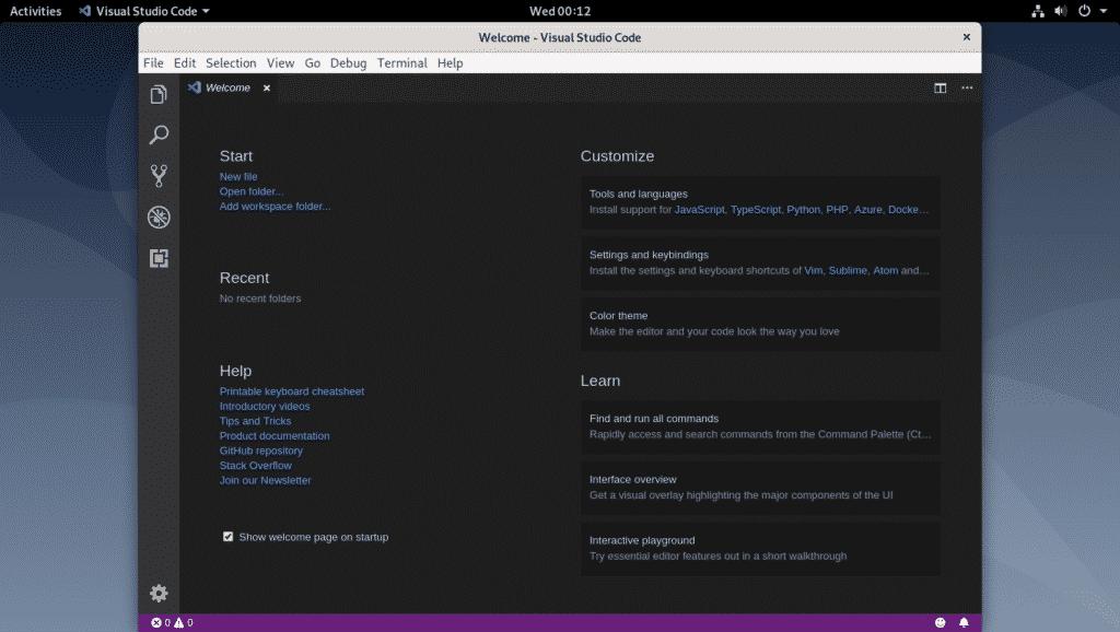Installing Visual Studio Code on Debian 10 – Linux Hint