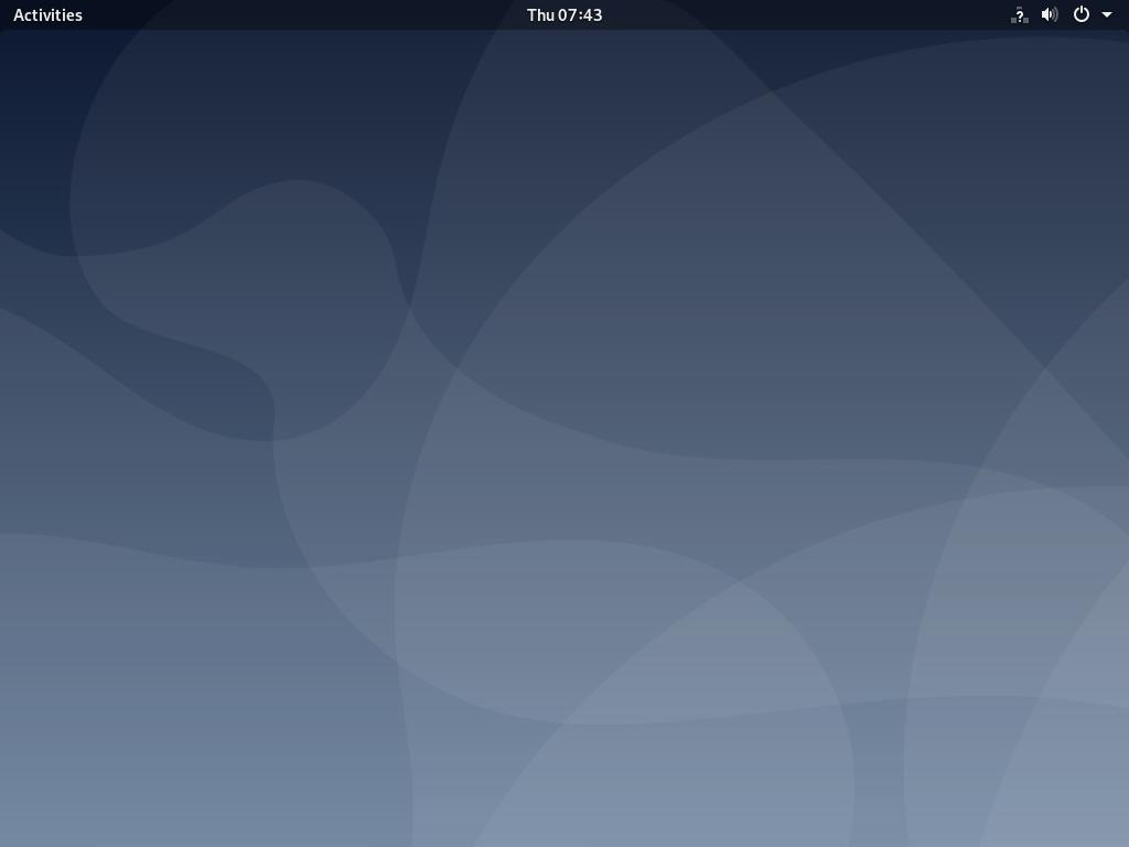 Installing GNOME Desktop Environment on Debian 10 Minimal