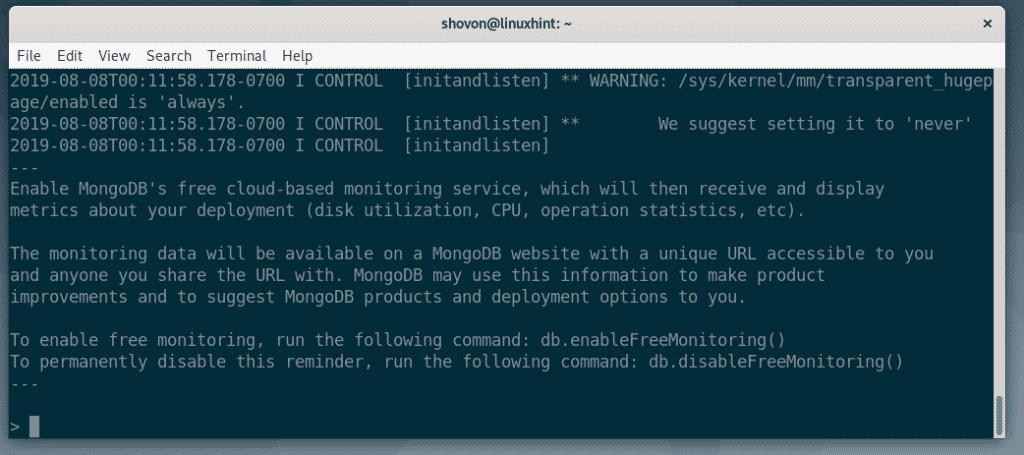 Install MongoDB 4 on Debian 10 – Linux Hint