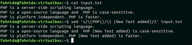 50 `sed` Command Examples – Linux Hint