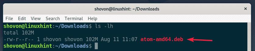 Installing Atom Text Editor on Debian 10 – Linux Hint