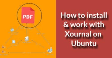 How to install & work with Xournal on Ubuntu