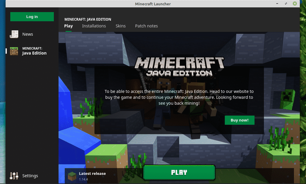 Play Minecraft With Linux Mint Linux Hint