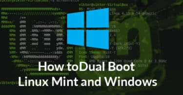 How to Dual Boot Linux Mint and Windows