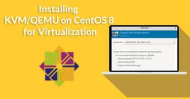 Installing KVM/QEMU on CentOS 8 for Virtualization