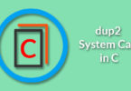 dup2 System Call in C