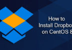 How to Install Dropbox on CentOS 8