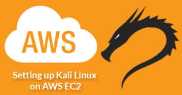 Setting up Kali Linux on AWS EC2