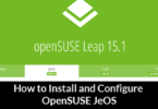 How to Install and Configure OpenSUSE JeOS